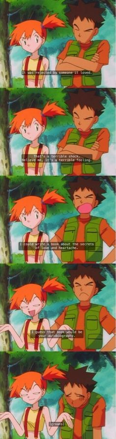 As a kid I didn't realize how much shade was thrown in Pokemon: Indigo League. Savage af.