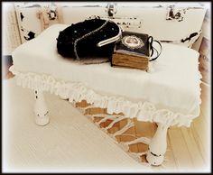 stool - my shabby white home