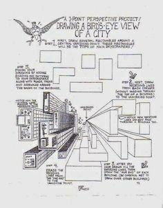perspective tutorials and assessments worksheets printables pinterest perspektive. Black Bedroom Furniture Sets. Home Design Ideas