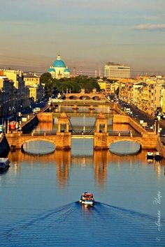 St Petersburg, Russia: the Fontanka River