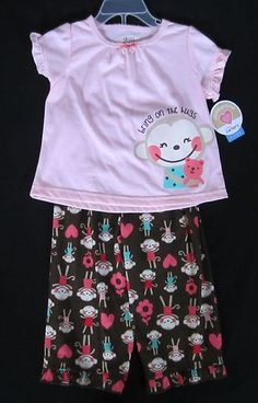 For your lil Monkey...Carter's Child of Mine PJ'S $8.98 Free Shipping.
