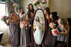 originele trouwfoto's bruid