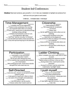 PDF I would modify for my HS students who struggle Student Self Assessment, Student Data, Student Self Evaluation, Student Voice, Teacher Tools, Teacher Resources, Teacher Hacks, Teacher Stuff, Classroom Organization