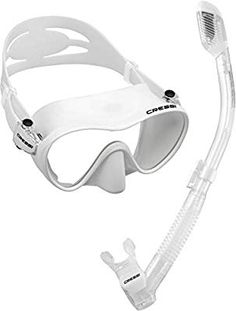 Amazon.com : Cressi Scuba Diving Snorkeling Freediving Mask Snorkel Set, White : Snorkeling Diving Packages : Sports & Outdoors Snorkel Set, Speed Roller Skates, Clear Mask, Inline Skating, Outdoor Recreation, Water Sports, Snorkeling, Scuba Diving