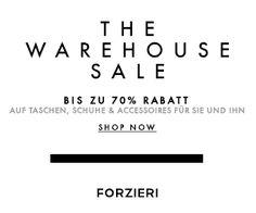 Sale bei FORZIERI.COM