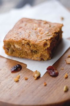 food + words | recipes. stories. life, from scratch. » butternut squash blondies.