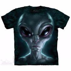 Camiseta  Alien Gris
