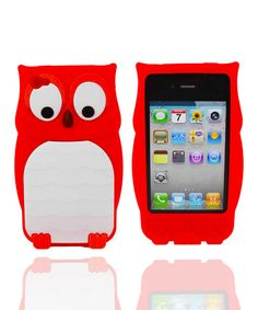 Take a look at this Red Owl Case for iPhone 4/4S by Atomic9 on #zulily today!
