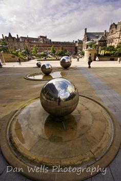 City centre, Sheffield, South Yorkshire  #RePin by AT Social Media Marketing - Pinterest Marketing Specialists ATSocialMedia.co.uk