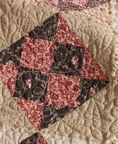 ~ Feather Quilting Designs ~ Raspberry Mocha