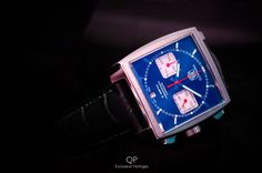 For tonight, we present a shot from the #QP archives; #TAG #Heuer was the first #watch manufacturer that was able to create a square case which also was water-resistant. The year was 1969, the #Monaco was born! Also an interesting fact, the Monaco was the frist square watch with an automatic #movement with #chronograph features. What's your take on the Monaco Calibre 12? Please let us know. Have a good night everyone.