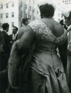 Easter Parade, New York, 1957 by Brassaï. We rarely get so dressed up these days.