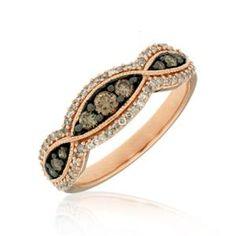Shop online Mocha Diamond RSD-10364 Rose Gold DIAMOND Rings  at Arthur's Jewelers. Free Shipping