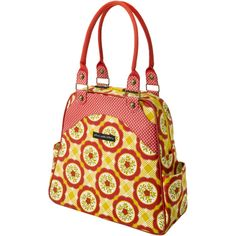 So versatile! It has tons of pockets, convert to #backpack, it is made of organic cotton... and did I mention stylish? Sashay Satchel in Marigold Medal