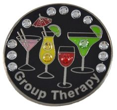 Mark Your Spot Crystal Group Therapy Made Ball Marker