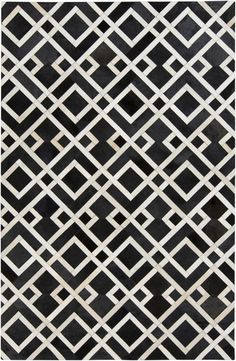 New Trail Collection rug has amazing trellis pattern and is made from 100% natural hides, this rug is a must see! (TRL-1130)