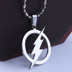 Make your Flash friends will jealous with this awesome necklace! - Color: Silver - Material: Stainless Steel - Length: 50cm Limited Quantity Available This item is currently out of stock but you can p