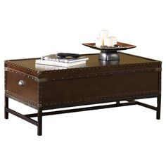 Buharkent Trunk Coffee Table with Lift Top