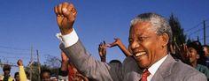 1991 Nelson Mandela libero dopo 27 anni di prigionia.