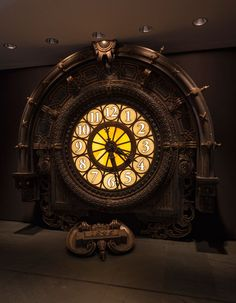 Dante Ferretti Hugo Clock. The train-station clock Ferretti designed for 2010's Hugo. Photo: Jonathan Muzikar, © The Museum of Modern Art, New York