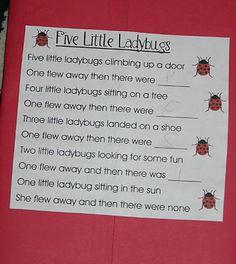 Ladybugs ~ Lapbook - 1+1+1=1