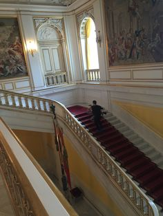 27. april 2016. Christiansborgs Slot. Michael slæber kærestol