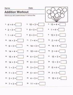 Resultado De Imagen Para Kumon Exercises Addition Kylie Math 1st Grade Fall Math Printable Worksheets Resultado De Imagen Para Kumon Exercises Addition Free Math Worksheets, Subtraction Worksheets, School Stuff