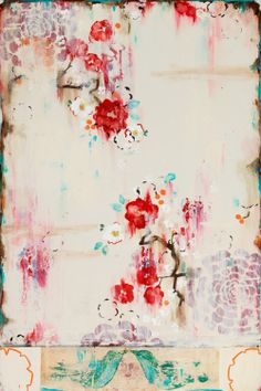 Kathe Fraga paintings, inspired by the romance of vintage Paris and Chinoiserie Ancienne. www.kathefraga.com