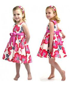 Rock Your Baby Pink Floral Mad Men Dress