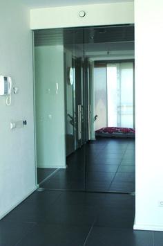 Dubbele hardglazen deur. Op maat gemaakt en compleet gemonteerd. Bathtub, Bathroom, Standing Bath, Washroom, Bath Tub, Bathrooms, Bathtubs, Bath, Tub