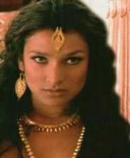 From the movie Kama Sutra. British-born actress Indira Varma. She wore some amazing costumes in this movie. She played a courtesan to an Indian king and girlfriend knew how to work it!