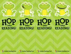 Hop into Reading with these cute Chevron Bookmarks. Free download! Reading Words, Guided Reading, Teaching Reading, Teaching Ideas, Frog Theme Classroom, Classroom Ideas, Too Cool For School, School Stuff, Creative Teaching Press