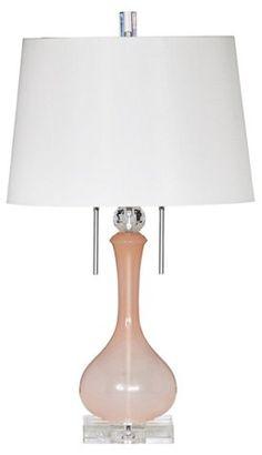 Olivia Table Lamp, Pink $449.00