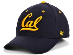 A picture truly tells the story of this '47 Brand California Golden Bears Kickoff Contender Flex Cap. The hotly colored California Golden Bears logo is in raised embroidery, and the cap's threaded rivets contrast nicely with the fabric. The curved bill helps keep the cap firmly in place. California Golden Bears, Bear Logo, Sports Fan Shop, Nike Men, Contrast, Baseball Hats, Cap, Embroidery, Fabric