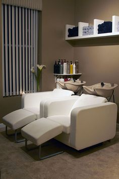 Noel New York Salon & Boutique Inc. Plush Backwash de Belvedere + ottoman