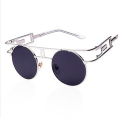 db7367a80 Metal Frame Steampunk Sunglasses Women Brand Designer Unique Men Gothic Sun  glasses Vintage Oculos De Sol Feminino 8 Color