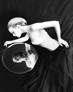 Dasha Z by Nikolay Biryukov in Mirror, Mirror for Fashion Gone Rogue. Fabulous concept.