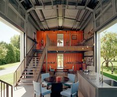 Kalkin's Shipping Container Homes    New Jersey based Architect Adam Kalkin has earned the reputation of employing shipping containers in very inventive ways.