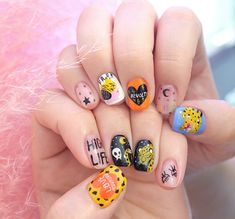 60 ideas for summer manicure designs perfect nails Nail Design Stiletto, Nail Design Glitter, Nail Manicure, Diy Nails, Cute Nails, Halloween Nail Designs, Halloween Nails, Summer Manicure Designs, Mens Nails