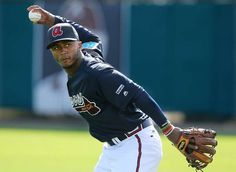 Braves shortstop Ozzie Albies is a top prospect.