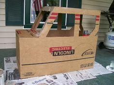 Widget Worm: Cardboard Jeep