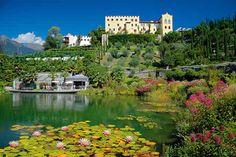 Castel Trauttmansdorff and its garden, Merano  http://www.italiaparchi.it/public/img/02F48A70207EECC51C4FAA0F28507813.jpg