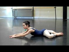 Stretching to improve turn out for ballet ( loosen up tight hips)