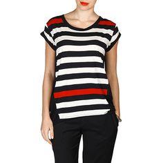 Camiseta Juliana Jabour Recorte Gaze