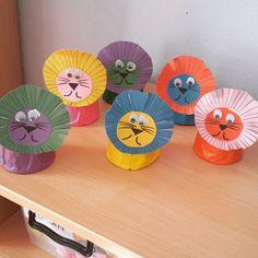 lion craft idea for kids (2) | Crafts and Worksheets for Preschool,Toddler and Kindergarten