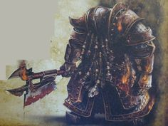Chaos Dwarf  Fireglaive from the Legion of Azgorh