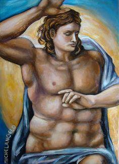 ΦΩΤΕΙΝΗ ΖΩΓΡΑΦΙΚΗ_ Φωτεινή Μάμαλη: Christe (after Michelangelo)