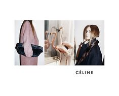 Céline Fall Winter Campaign, Photography by Jurgen Teller, 2012  -- idea of presenting a simplified mood board - ie. colour inspiration