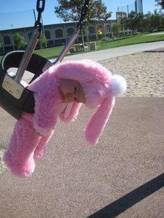 Pink Easter Bunny Costume | Costumepedia.com
