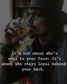 Its not about whos real to your face.. via (http://ift.tt/2pobC5T)